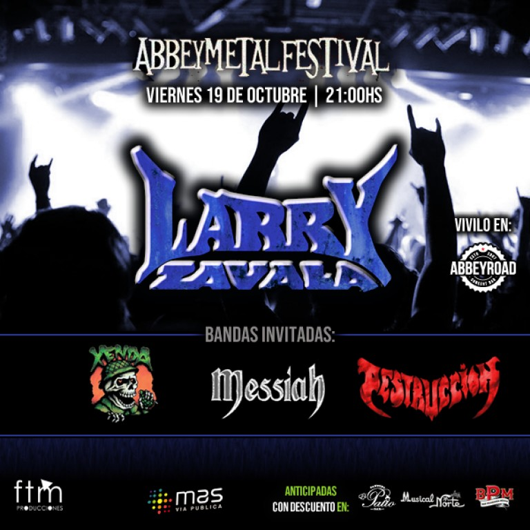ABBEY METAL presenta: LARRY ZAVALA