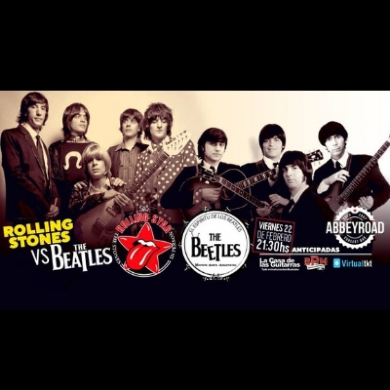 The Beetles & Rolling Star: Las Mejores Bandas Tributo