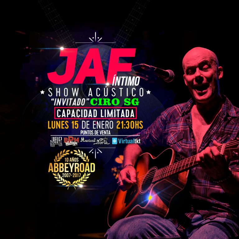 JAF Acustico en Abbey Road