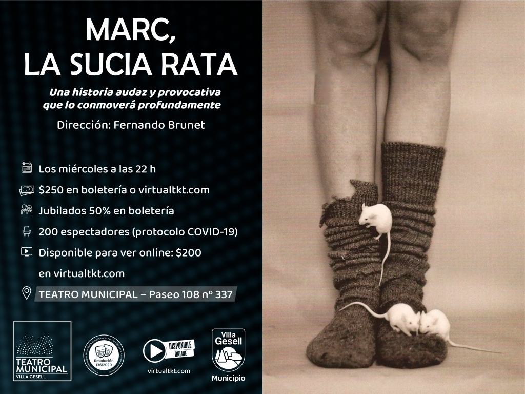 MARC, LA SUCIA RATA - EN STREAMING